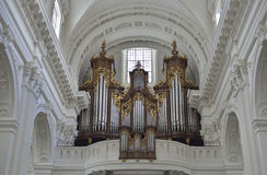 Catedral de Solothurn Suiza Fotografía de archivo
