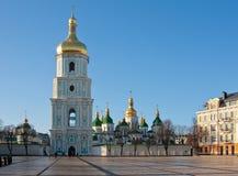 Catedral de Sophia en Kiev Imagenes de archivo