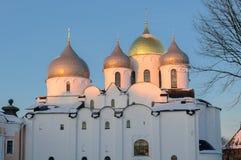 Catedral de Sophias del santo Imagenes de archivo