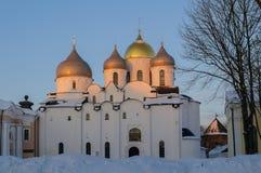 Catedral de Sophias del santo Imágenes de archivo libres de regalías