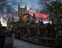 Catedral de Southwark Fotografia de Stock Royalty Free