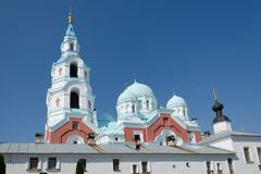 Catedral de Spaso-Preobrazhensky do monast?rio de Valaam Ilha de Valaam, Car?lia, R?ssia foto de stock royalty free