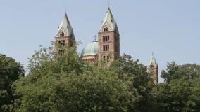 Catedral de Speyer almacen de metraje de vídeo