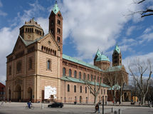 Catedral de Speyer fotografia de stock royalty free