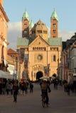 Catedral de Speyer, Alemanha Foto de Stock