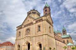 Catedral de Speyer, Alemania Imagen de archivo libre de regalías