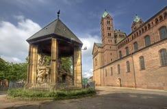 Catedral de Speyer, Alemania Foto de archivo