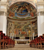 Catedral 1 de Spoleto Santa Maria Assunta fotografía de archivo libre de regalías