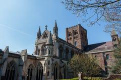 Catedral de St Albans foto de stock royalty free