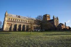 Catedral de St Albans Imágenes de archivo libres de regalías