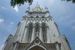 Catedral de St Andrew em Singapura foto de stock
