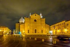 Catedral de St Anthony em Pádua, Itália Fotos de Stock Royalty Free