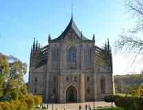 Catedral de St Barbara Fotografía de archivo libre de regalías