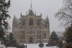 Catedral de St Barbara Fotos de Stock Royalty Free