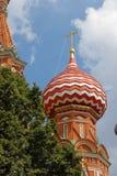 Catedral de St.Basil em Moscovo Imagem de Stock Royalty Free
