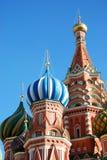 Catedral de St.Basil em Moscovo. imagens de stock