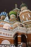 Catedral de St.Basil en la Plaza Roja, Moscú imagenes de archivo