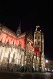 Catedral de St Elisabeth en Kosice, Eslovaquia foto de archivo libre de regalías