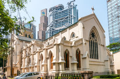 A catedral de St John Fotos de Stock Royalty Free