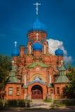 Catedral de St John Divine em Likino-Dulevo imagem de stock