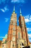 Catedral de St John el Bautista en Wroclaw, Polonia Imágenes de archivo libres de regalías