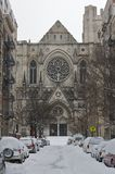 A catedral de St John - inverno foto de stock royalty free