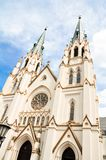 Catedral de St John o baptista no savana, Geórgia Imagens de Stock Royalty Free