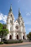 Catedral de St John o batista no savana, GA Imagem de Stock Royalty Free