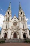 Catedral de St John o batista no savana, GA Fotografia de Stock
