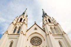 Catedral de St John o batista no savana, Geórgia Foto de Stock Royalty Free