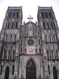 A catedral de St Joseph, Hanoi, Vietname Imagem de Stock