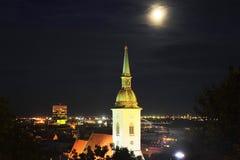 A catedral de St Martin, Bratislava imagens de stock royalty free