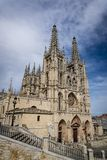 Catedral de St Mary de Burgos, Burgos, España imagen de archivo libre de regalías
