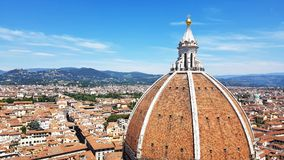 Catedral de St Mary da flor em Florença, Itália Imagem de Stock