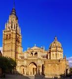 Catedral de St Mary de Toledo, España Imagen de archivo libre de regalías