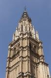 Catedral de St Mary (espanhol Catedral Primada Santa MarÃa de Toledo) Fotografia de Stock