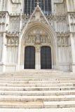Catedral de St Michael e de St Gudula, Bruxelas Foto de Stock