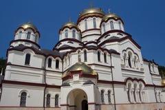 Catedral de St Panteleimon o grande mártir Imagem de Stock