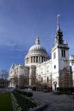 A catedral de St Paul Imagem de Stock Royalty Free