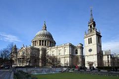 A catedral de St Paul Fotos de Stock Royalty Free