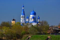 Catedral de St Paul em Gatchina St Petersburg, Rússia Fotografia de Stock
