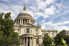 A catedral de St Paul, Londres, Inglaterra Imagem de Stock