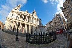 A catedral de St Paul, Londres, Reino Unido Imagens de Stock