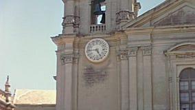 Catedral de St Paul Malta almacen de video