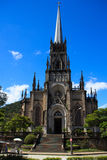 Catedral de St Peter de Alcântara em Petrópolis, Brasil imagem de stock royalty free