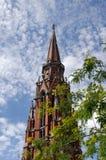 Catedral de St Peter e de Paul imagem de stock