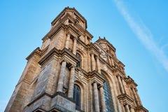 Catedral de St Peter no centro da cidade cidade de Rennes, Rennes imagem de stock