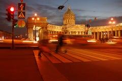 Catedral de St Petersburg, Kazan Imagenes de archivo
