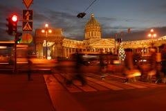 Catedral de St Petersburg, Kazan Foto de archivo libre de regalías