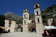 Catedral de St Tryphon, Kotor, Montenegro Foto de archivo